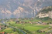 Landscape of Lake Garda — Fotografia Stock