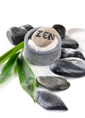 Zen pebble — Stock Photo