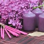 Lilac perfume — Stock Photo #25546319