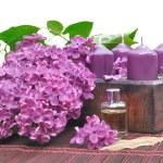 Lilac perfume — Stock Photo #25546353