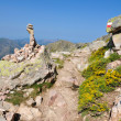 Gr20 trail in Corsica — Stock Photo