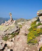 Gr20 trail in Corsica — Stock Photo