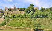 French village in Burgundy — Stock Photo