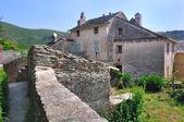 Corsican village — 图库照片