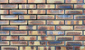 Background clay bricks — Stock Photo