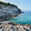 Stock Photo: Rocky coast of Corsica