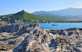 Rocky coast in Corsica — Foto de Stock