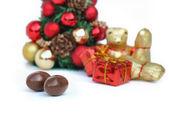 Chocolate for christmas — Stock Photo