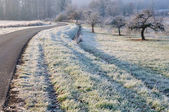 Countryside in winter — Foto de Stock