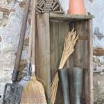 Rustic gardening tools — Stock Photo #37569219