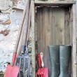 Equipment and gardening tools — Stock Photo #37569255