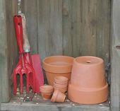 Herramientas de jardinería — Foto de Stock