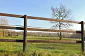 Fence electrified — Stockfoto