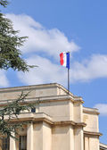 Franch flag on a monument  — Stock Photo