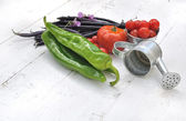 Pretty vegetables — Stock Photo