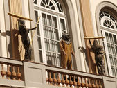 Balcony of Dali museum — Stock Photo