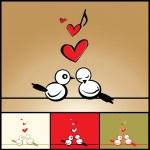 Love - birds — Stock Vector #2258321