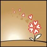 Flower of love — Stock Vector #2258332