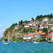 Ohrid lake, Macedonia — Stock Photo