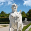 Belvedere park statue, Vienna — Stock Photo #4341410