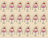 Merry girl — Stock Photo