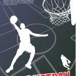 Basketball vector — Stock Vector #13271946