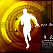 Sports champion vector — Stockvector #29022357