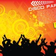 Disco party background — Stock Vector #30958327