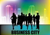 Businesspeople — Vettoriale Stock