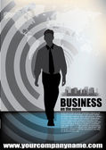 Business man — Stock Vector