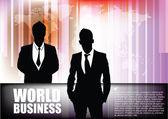 Fond de l'homme d'affaires — Vecteur