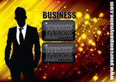 Businessman background — Stok Vektör