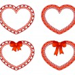 Ornate hearts — Stock Vector #25769381