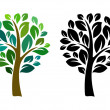 Vetorial Stock : Vector tree
