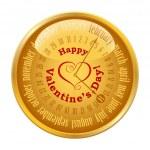 Valentine's Day on calendar — Stock Vector #40622261