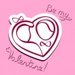 Be my Valentine! — Vector de stock  #40621873