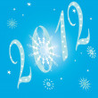 Background vector pattern New Year — Imagen vectorial