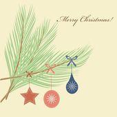 Abstract Christmas tree pattern background — Stockvektor