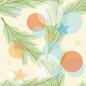 Christmas background. Seamless pattern. — Stock Vector