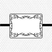 Vintage stylized frame — Stock Vector