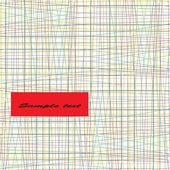 Tarjeta abstracto original — Vector de stock
