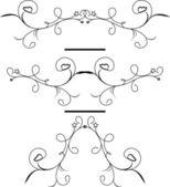 Vintage element för design — Stockvektor