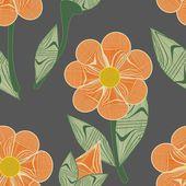 Fondo transparente de flor abstracta — Vector de stock