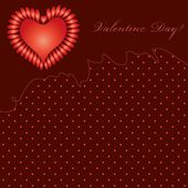Valentine Day backgrounds — Stock Vector