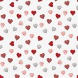 Heart seamless pattern background — Stock Vector #38388469