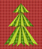 Christmas tree for scrapbooking 5 — Stock Vector