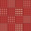 Royalty-Free Stock Vector Image: Christmas quilt seamless pattern 2