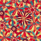 Beautiful bright flowers 1 — Stock Vector