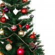 Decorated Christmas tree — Stock Photo #14056102