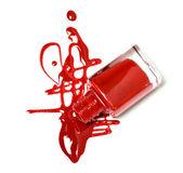 Red nail — Stock Photo